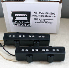 Lindy Fralin Stock Jazz Bass 4 string pickup set - black
