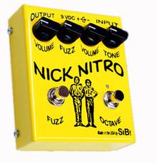SIB Effects Nick Nitro Dual Fuzz - octave & silicon fuzz pedal