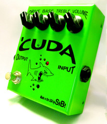SIB Effects Cuda Tube Overdrive pedal