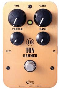 Rockett Pedals 10 Ton Hammer High Gain OD / Distortion pedal
