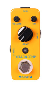 Mooer Audio Yellow Comp Optical Compressor pedal