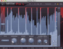 FabFilter Pro-L Brickwall Limiter Plug-in - download