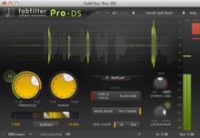 FabFilter Pro-DS De-Esser Plug-in - download