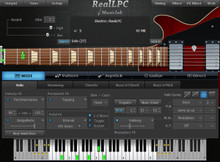 MusicLab RealLPC Les Paul Electric Guitar plug-in - download