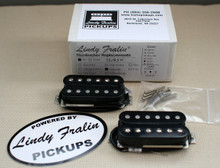 Lindy Fralin Unbucker Humbucker stock set, 3 conductor - black