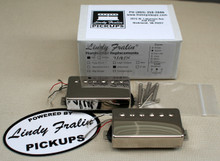 Lindy Fralin Unbucker Humbucker stock set, 3 conductor - nickel