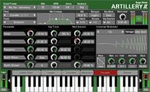 Sugar Bytes Artillery 2 Effects Keyboard - download