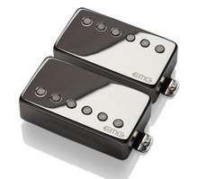 EMG 57 / 66 Active Alnico V Humbucker set - black chrome