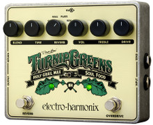 Electro-Harmonix Turnip Greens Multi-Effects pedal - Soul Food OD / Holy Grail Max Reverb