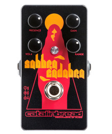 Catalinbread Sabbra Cadabra Treble Booster / Overdrive pedal