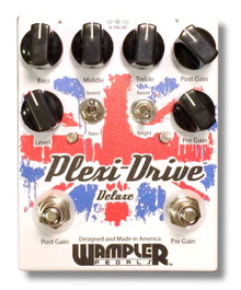 Wampler Plexi-Drive Deluxe Distortion w/3 Band EQ