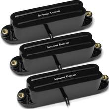 Seymour Duncan SHR-1 Hot Rails for Strat pickup set - black
