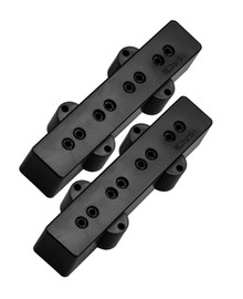 DiMarzio DP123 Model J Jazz Bass pickup set - black