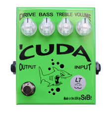 SIB Effects Cuda LT Low Gain Overdrive pedal