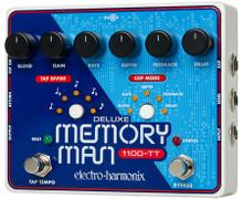Electro-Harmonix Deluxe Memory Man 1100-TT Analog Delay with Tap Tempo - 1100 m
