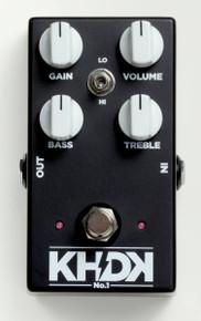 KHDK Electronics No. 1 Overdrive pedal