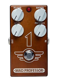 Mad Professor 1 Distortion / Reverb pedal