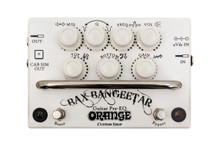 Orange Bax Bangeetar Guitar Preamp / EQ / Overdrive pedal - white