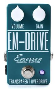 Emerson Custom Em-Drive Transparent Overdrive