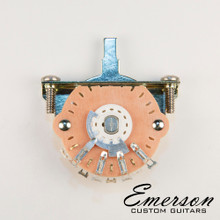 Emerson Custom 3-Way Oak Grigsby Lever Switch