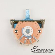 Emerson Custom 5-Way Oak Grigsby Lever Switch