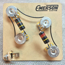 Emerson Custom PRS 4-Knob Prewired Kit - 500K Pots