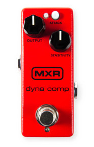 MXR M291 Dyna Comp Mini Compressor pedal w/ ECB-003 9v power supply