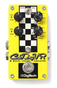 Digitech CabDryVR Dual Cabinet Simulator pedal