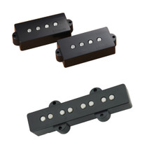 DiMarzio DP251 Area P & J Bass pickup set - black
