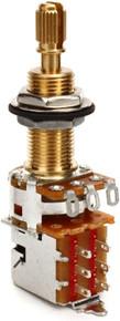"Emerson Custom 500K Long Split Shaft (3/4"") Push/Pull Pot"