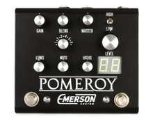 Emerson Custom Pomeroy Boost / OD / Distortion pedal - black
