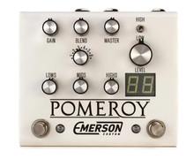 Emerson Custom Pomeroy Boost / OD / Distortion pedal - white