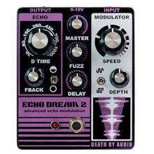 Death By Audio Echo Dream 2 Modulated Delay / Fuzz pedal