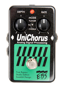 EBS UniChorus Studio Edition Analog Chorus Flanger Pitch Mod pedal