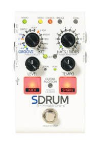 Digitech SDRUM Strummable Drums Percussion pedal