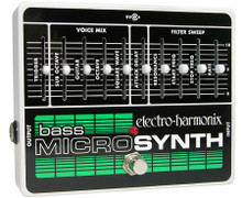 Electro-Harmonix Bass Microsynth Synthesizer pedal - open box