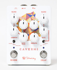 Keeley Electronics Caverns v2 Delay / Reverb pedal - open box