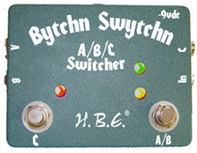 HomeBrew Electronics HBE Bytchn Swytchn A/B/C Switcher