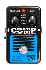 EBS MultiComp Black Label Studio Edition - True Dual Band Compressor