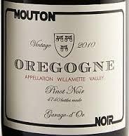 Mouton Noir Oregogne Pinot Noir