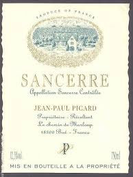 Jean-Paul Picard Sancerre Blanc (Loire Valley)