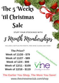 5 Weeks Til Christmas Sale