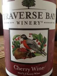 Traverse Bay Cherry Wine