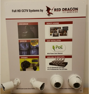 Custom CCTV Point Of Sale Display Board