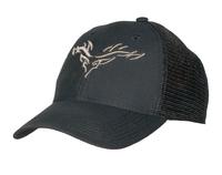 Legacy Lo-Pro Snapback Black/Silver Logo Hat
