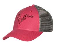 Legacy Lo-Pro Snapback Burgundy/Silver Logo Hat