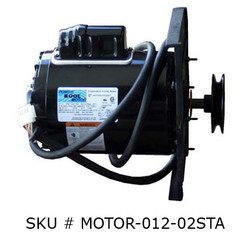 1/2 h.p. 3-Speed Belt Drive Motor (SKU#MOTOR-012-02STA)
