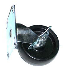 "Locking Caster for 16"", 24"", & 36"" Fan Units"