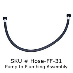 "1/2"" x 31"" Female/Female Hose"