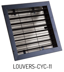 Louvers with Mesh for Portacool Cyclone 2000 Fans - LOUVERS-CYC-11
